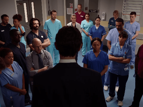 Holby City spoilers: Jasmine Burrows dies in horror stabbing scene but what will Fran do next?