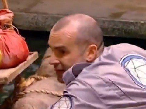 Louie Spence got locked in The Crystal Maze and he definitely wasn't happy