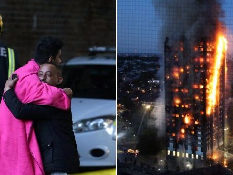 Families desperately search for missing loved ones caught up in Grenfell Tower fire