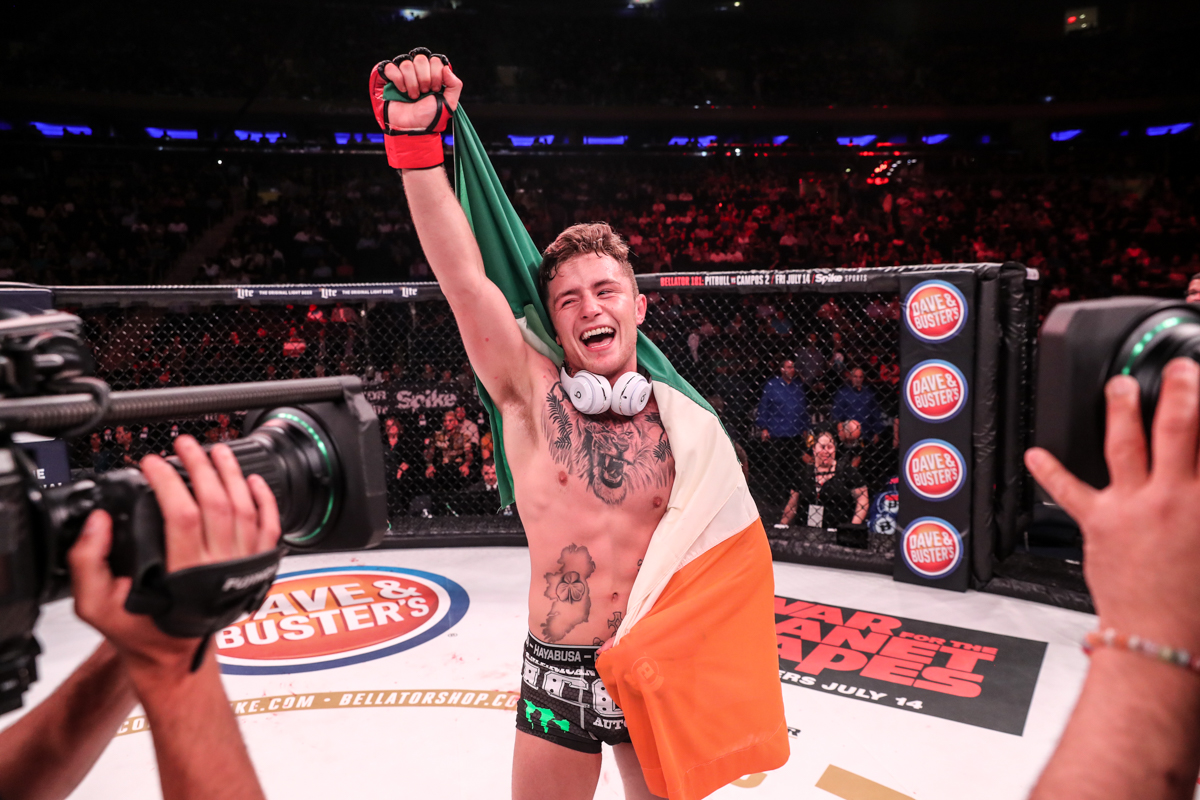 James Gallagher stuns Madison Square Garden with first-round finish and champion call-out