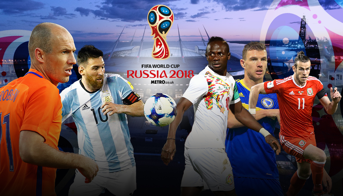 Bale, Robben, Mane, Messi and Dzeko: The superstars in danger of missing the 2018 World Cup