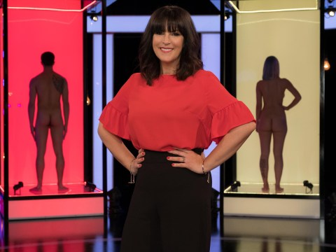 How does Naked Attraction work and who is host Anna Richardson?