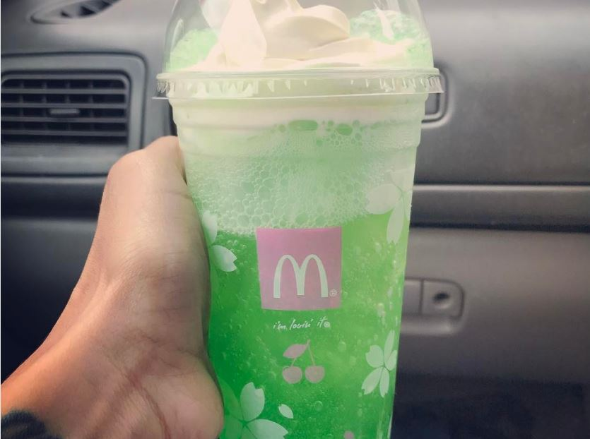 The new McDonald's neon green drink is freaking people out