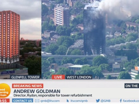 Director of company which refurbished Grenfell Tower 'hangs up' on Piers Morgan