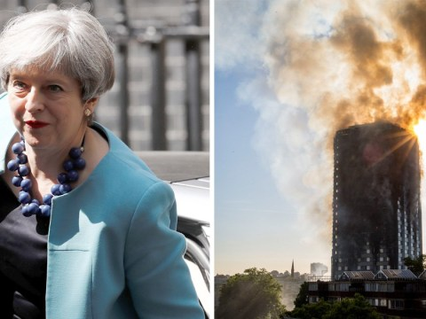 Theresa May vows that 'action will be taken' after Grenfell Tower inferno