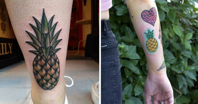 14 Pineapple Tattoos For People Who Can T Get Enough Of The