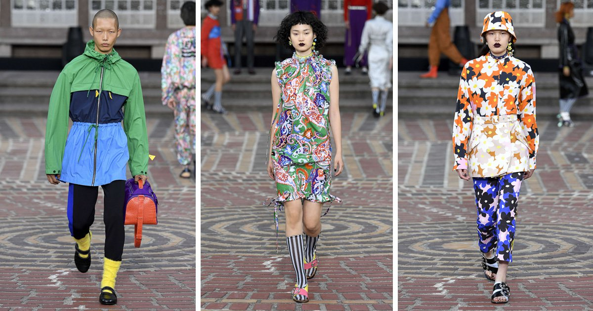 Kenzo casts exclusively Asian models for its latest show
