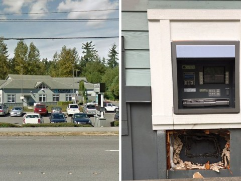 Thieves burn all the cash while using blowtorch to break into ATM