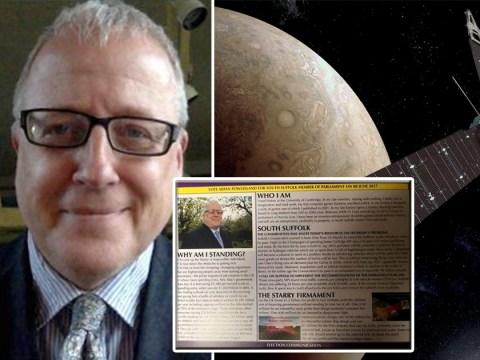 Ukip candidate wants to invest £1billion on interstellar nano-probe fleet