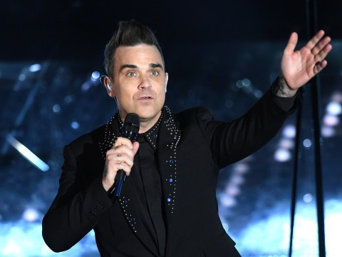 What are the new lyrics to Robbie Williams' Manchester attack tribute song Strong?
