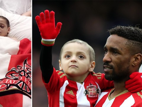 Football mascot Bradley Lowery, 6, given 'just weeks to live'