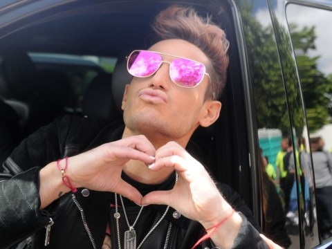 Ariana Grande's brother Frankie meets fans ahead of One Love Manchester concert