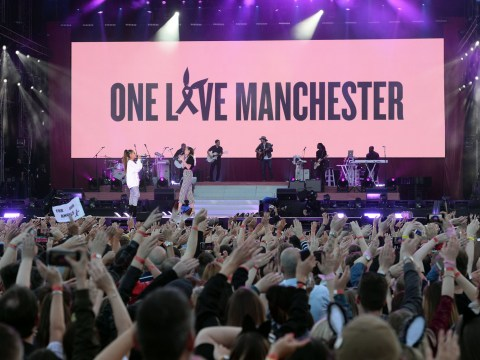 Scooter Braun shares moving video of crowds singing Strong as they leave One Love Manchester