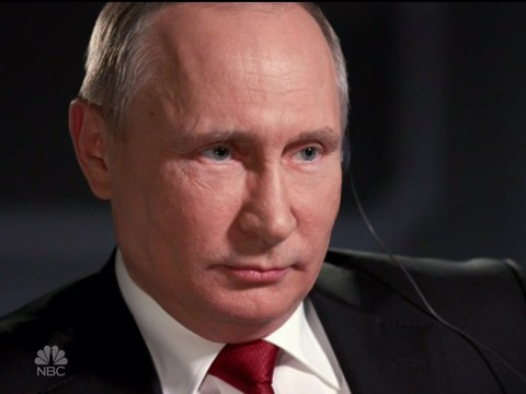 Putin says he 'doesn't care' who the American president is