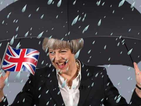 There will be heavy rain and thunderstorms tomorrow so the Tories will probably win