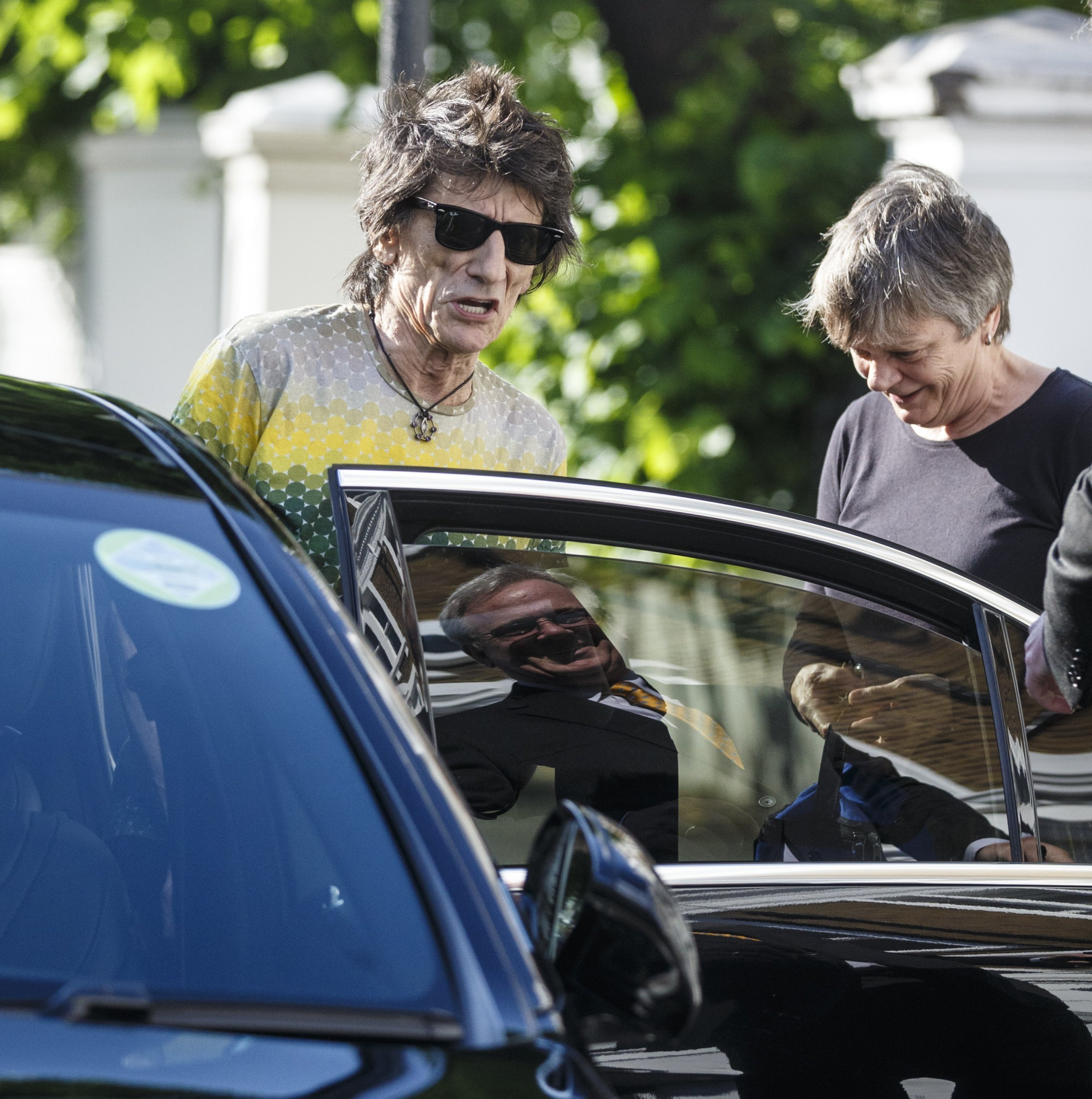 Rolling Stones spotted arriving at London studio to start rehearsals for their Stones – No Filter tour