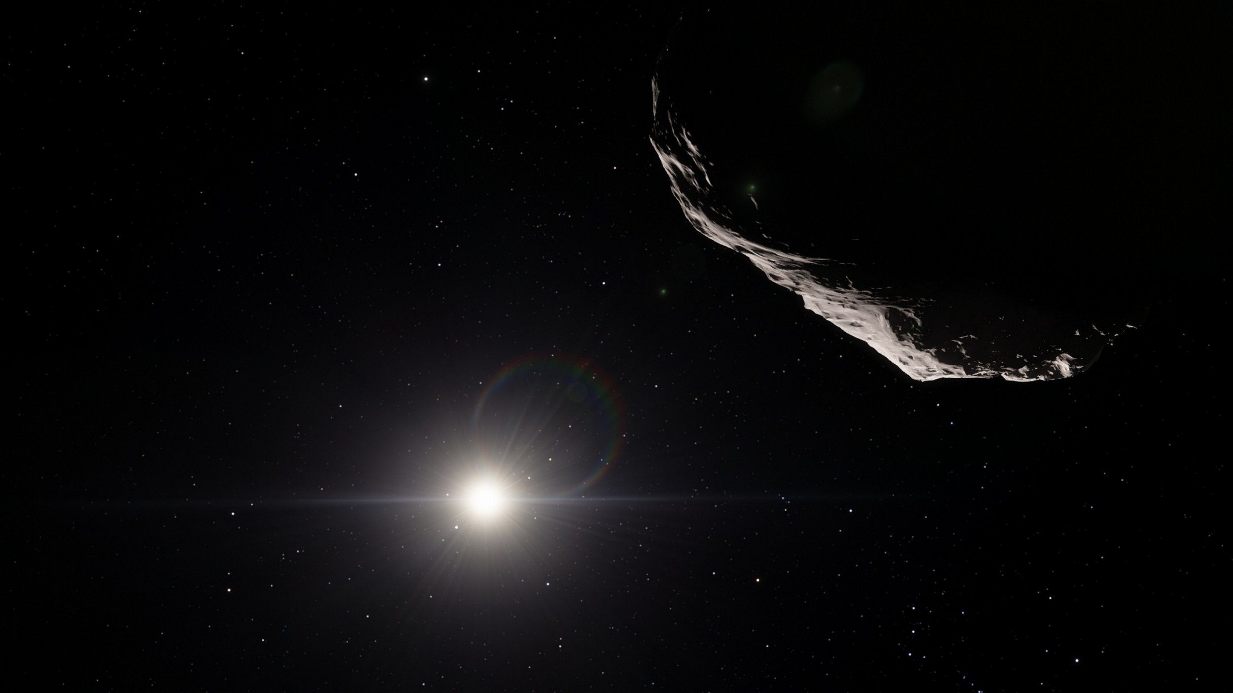 A second 'alien asteroid' has been spotted in our solar system