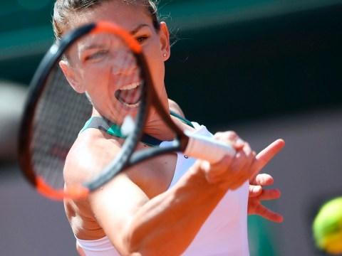 Simona Halep saves match point to beat Elina Svitolina and set up Karolina Pliskova French Open semi-final