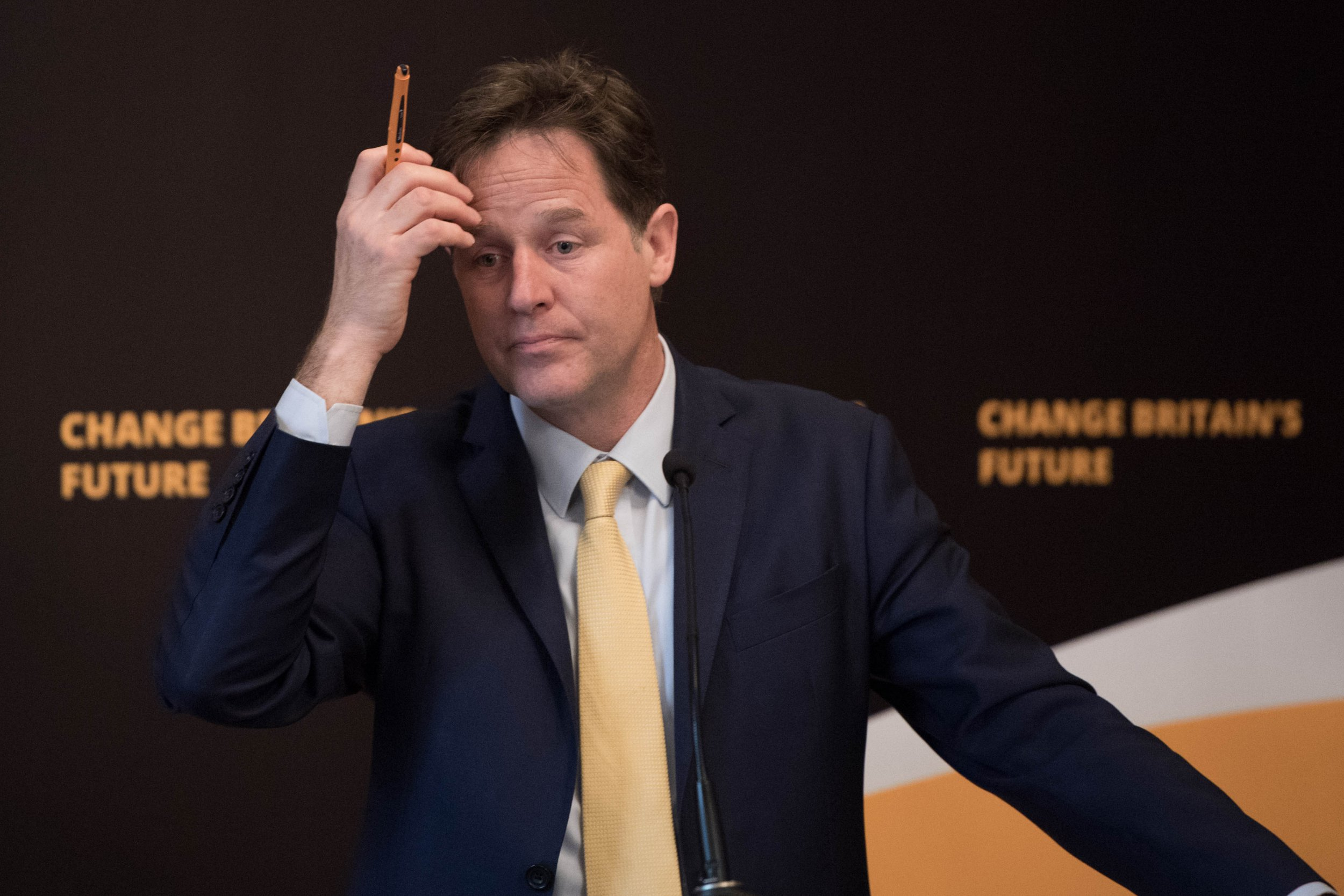 Former Lib Dem leader Nick Clegg says he lost his seat because he is stubbornly 'anti-Brexit'