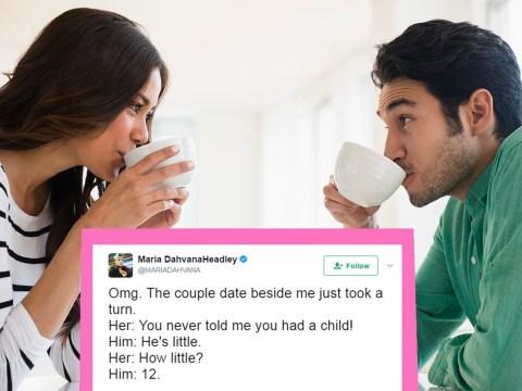 Author live-tweets the moment woman finds out about boyfriend's secret child