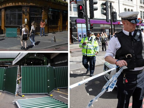 Last cordons surrounding site of London attack removed by police