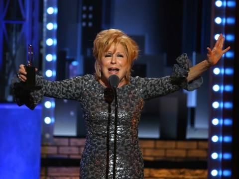 Queen of Sass Bette Midler rules on the Tony Awards stage, tells the orchestra to 'shut that crap off'