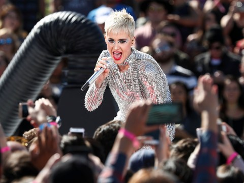 Katy Perry ends four day live stream with a concert and splits her pants on stage