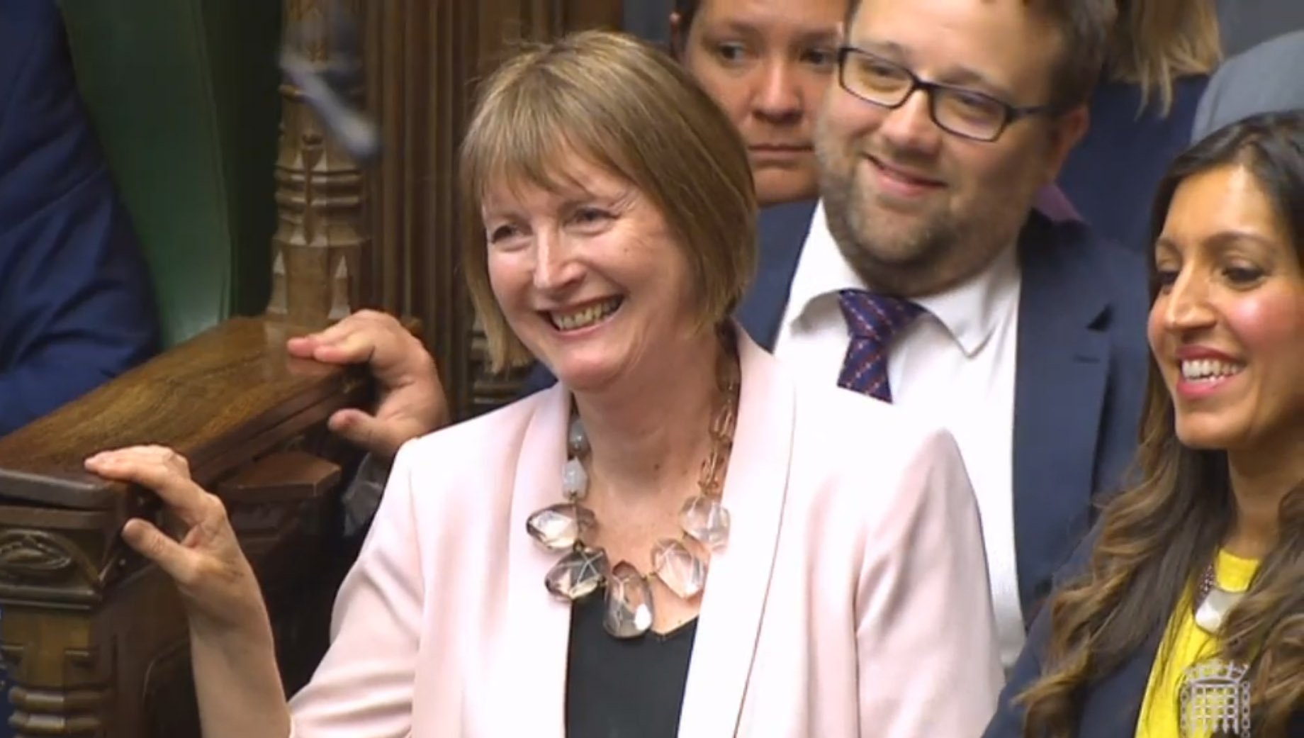 Harriet Harman has become first ever 'Mother of the House'