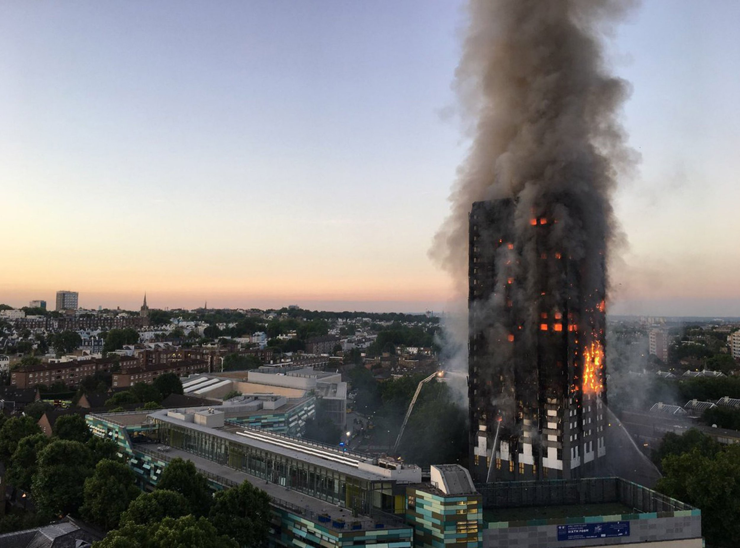 Most people who died in Grenfell Tower came from 23 flats