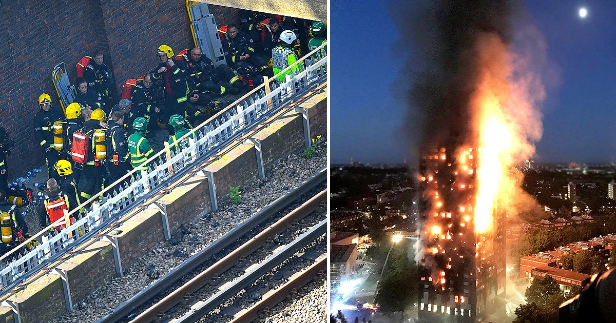 Fire service confirm there have been deaths in Grenfell Tower fire