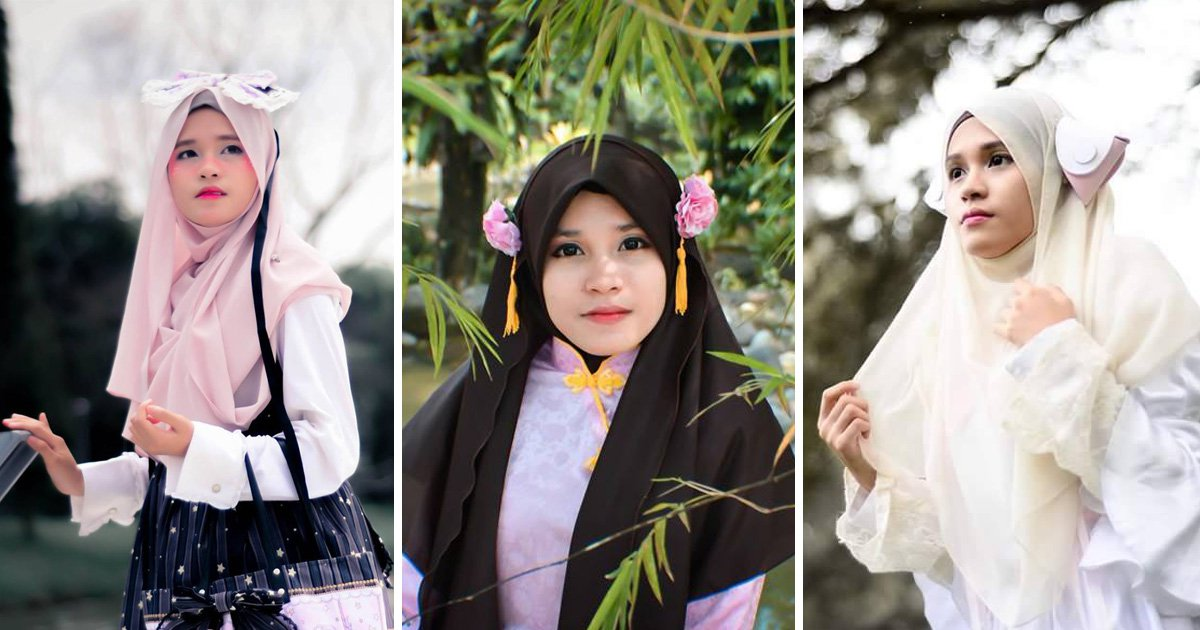 The Muslim cosplayers using hijabs to their advantage