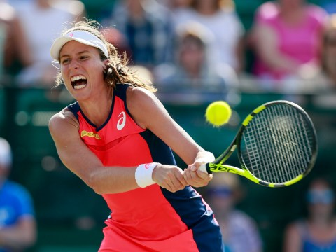 Johanna Konta stunned in Nottingham Open final by Donna Vekic