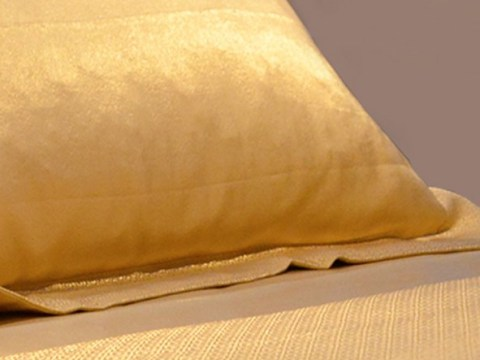 You can now buy 24 carat gold bed sheets so screw you, cotton