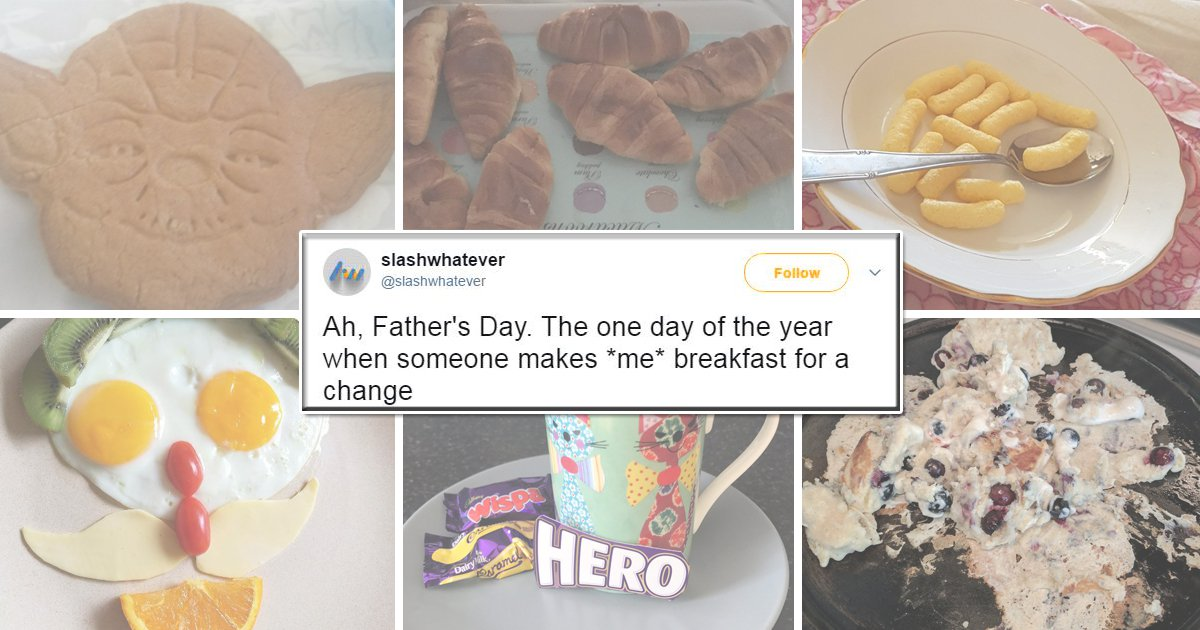 The best and worst of breakfasts given to dads on Father's Day