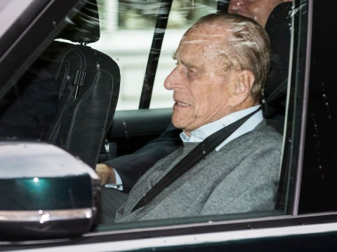 Prince Philip leaves hospital after treatment for an infection