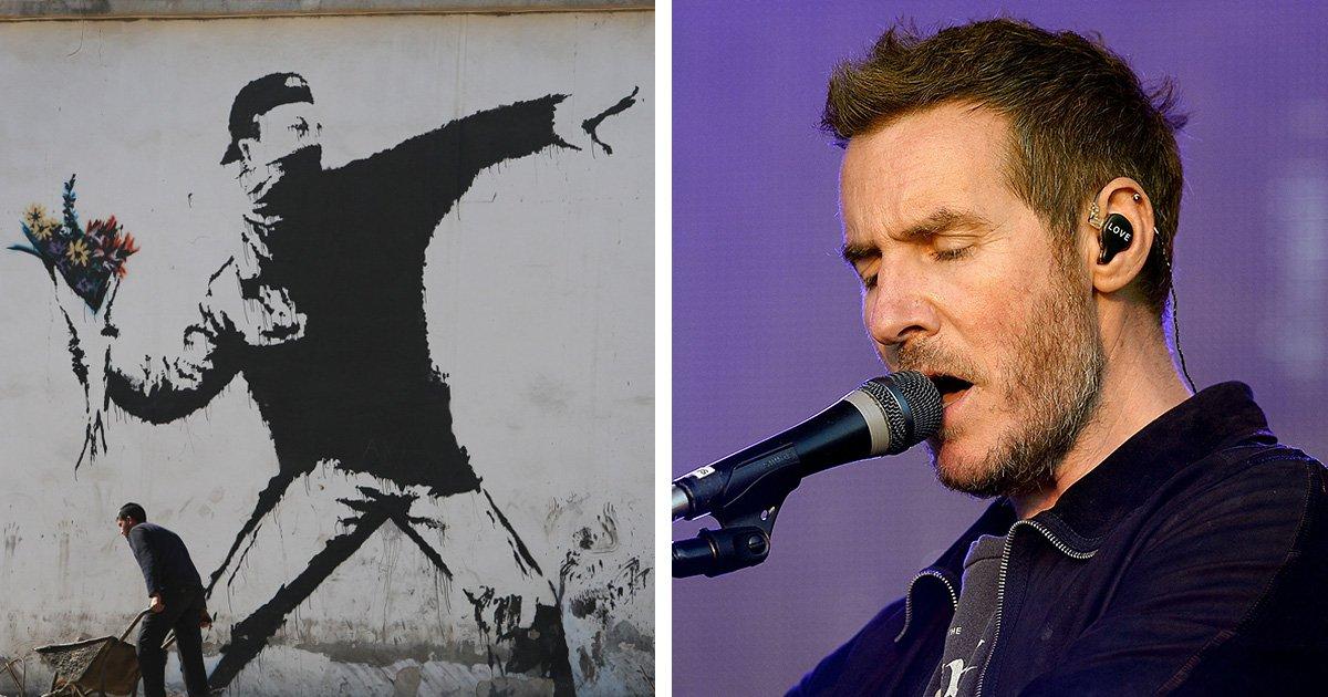 No, Banksy is not Massive Attack star Robert Del Naja