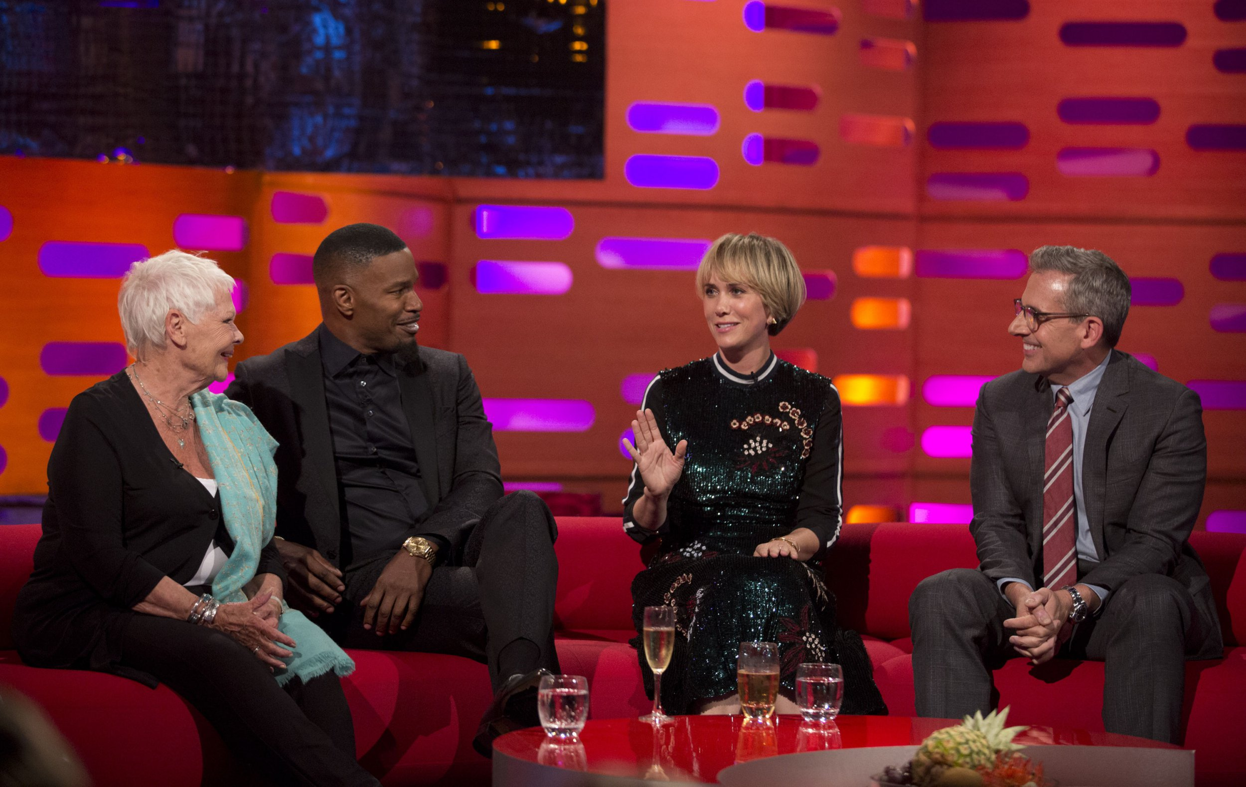 Who are the Graham Norton Show guests tonight? Dame Judi Dench among a star-studded group