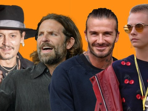 Brad Pitt, Johnny Depp and David Beckham are just some of the famous faces at Glastonbury 2017