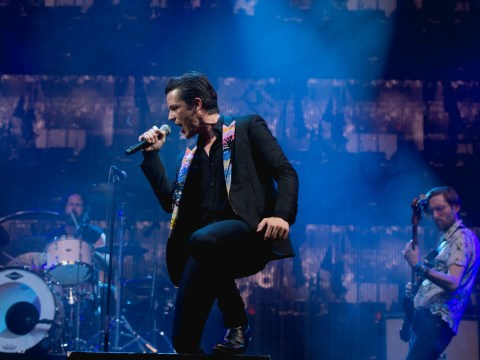 The Killers make surprise appearance at Glastonbury Festival ten years after last performance