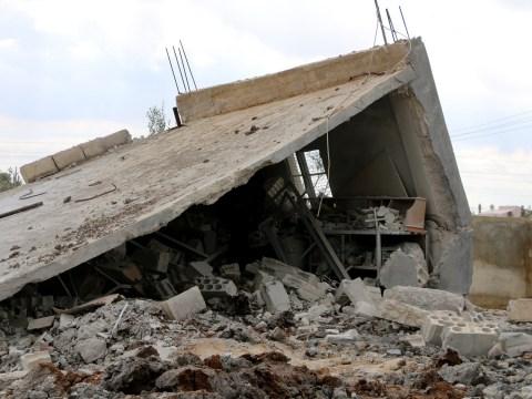 At least 42 Isis prisoners killed in air strike on jihadi-run jail in Syria