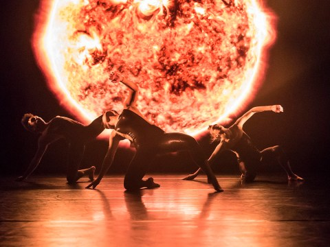 Dancers turn space science into art with 8 Minutes performance
