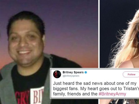 Britney Spears pays tribute to super fan Joseph Hernandez who sadly died