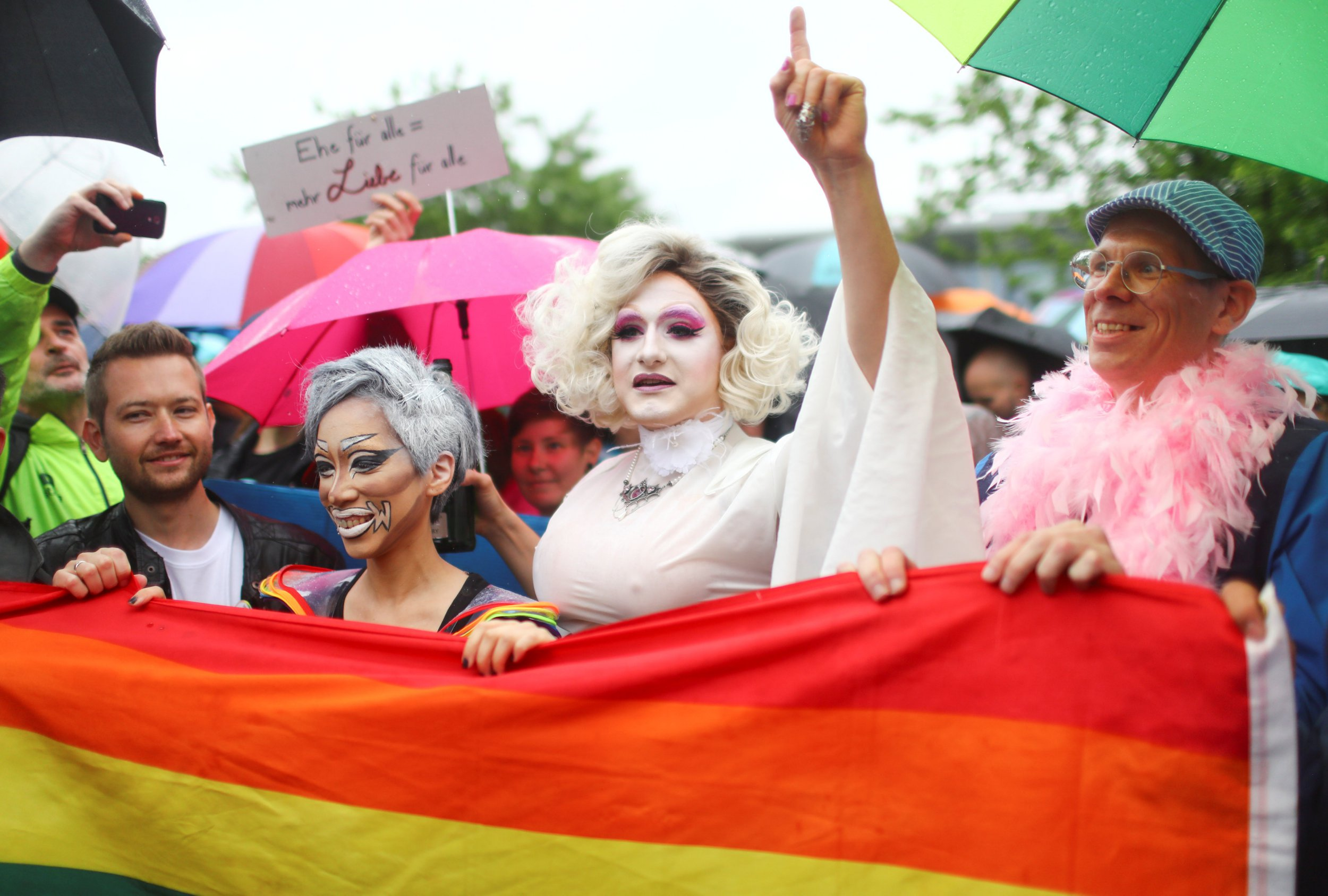 Gay marriage has been legalised in Germany