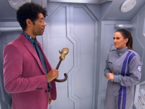 Everybody's loving Richard Ayoade as the new host of The Crystal Maze