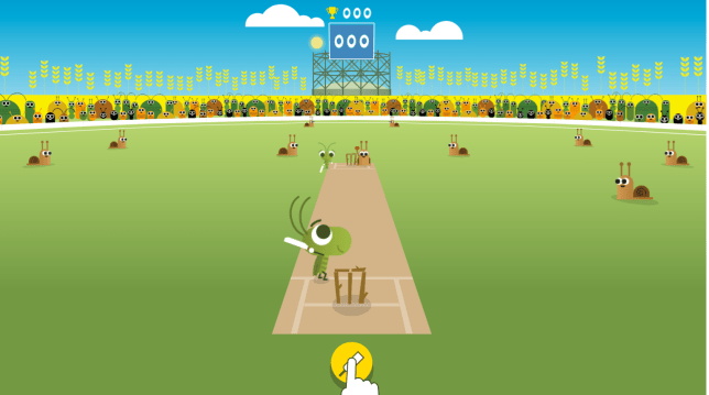 Google Doodle Cricket Game For 2017 Icc Champions Trophy