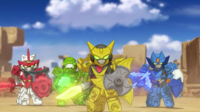 Anime Chat: Why you should watch Tenkai Knights on Netflix