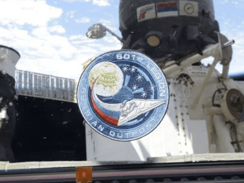 Star Wars fans make their mark on the International Space Station