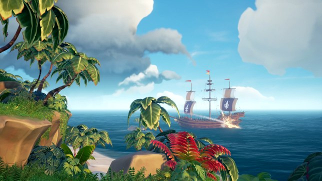 Sea Of Thieves - a life on the open sea, and also islands