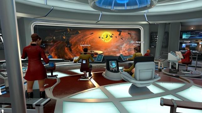 Star Trek: Bridge Crew (PSVR) - Klingons are, very often, on the starboard bow
