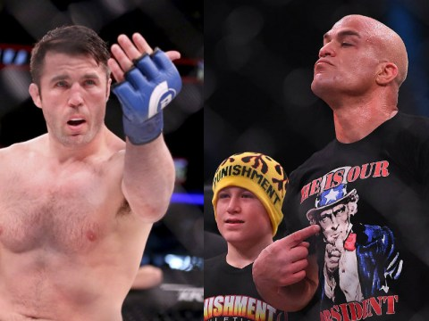 Chael Sonnen labels Tito Ortiz a 'drunk' after relentless heckling during Wanderlei Silva fight